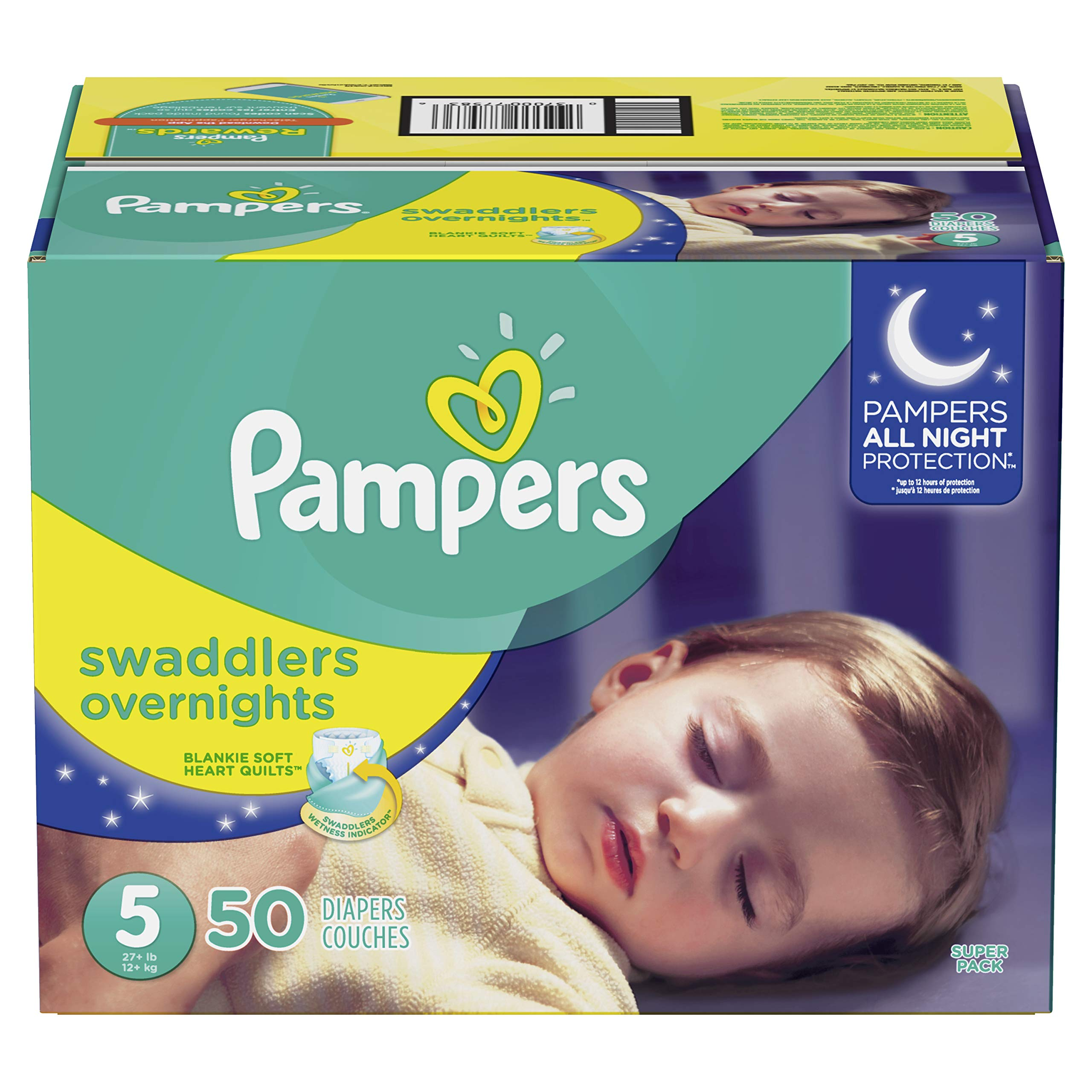 Amazon.com: Pampers Swaddlers Disposable Baby Diapers Size