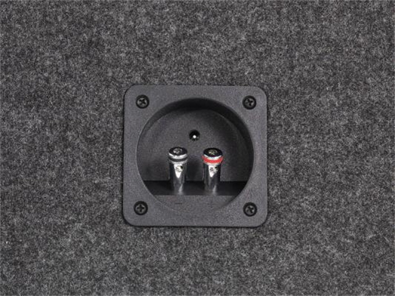 Grey//Black Scosche SE102CC 10-Inch Dual Subwoofer Enclosure