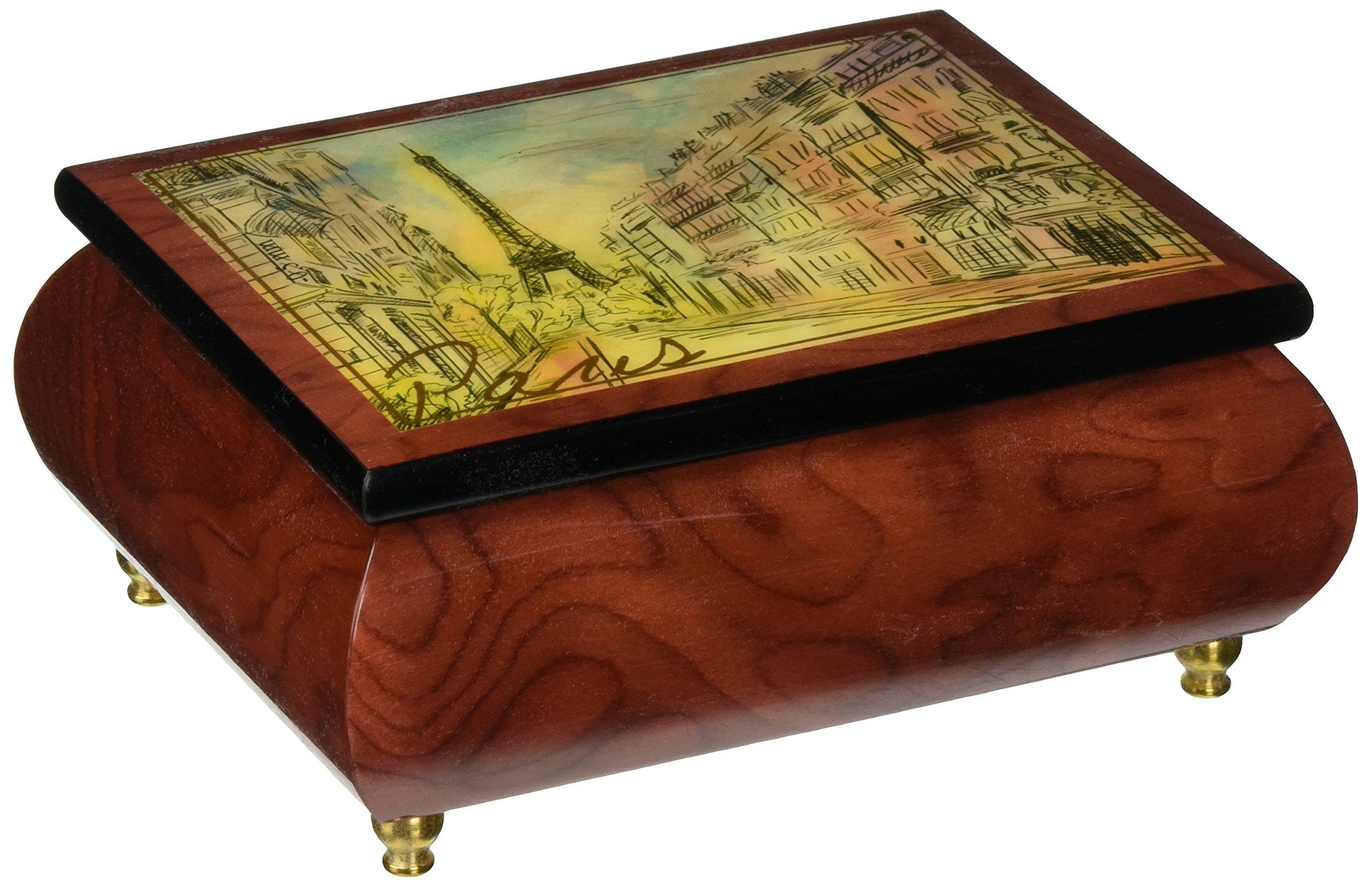 Ercolano Music Box ''Paris'' by Ercolano