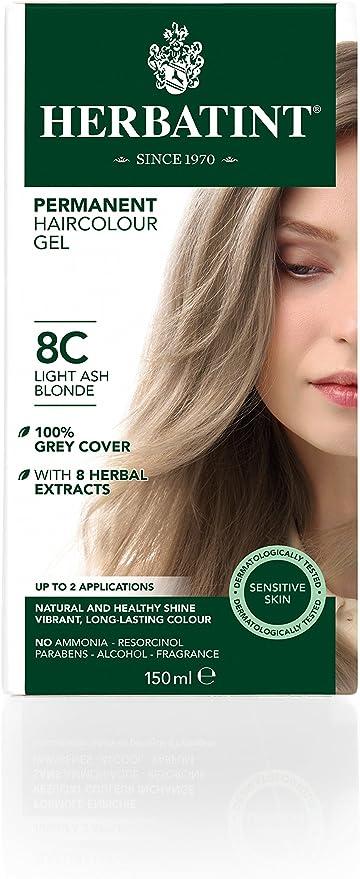 Herbatint Tinte Rubio Claro Ceniza 8C - 150 gr