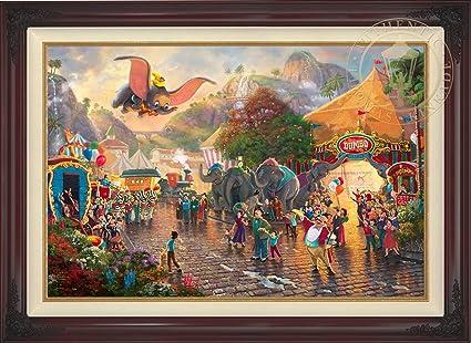 Amazon.com: Disney Dumbo - Thomas Kinkade 28\