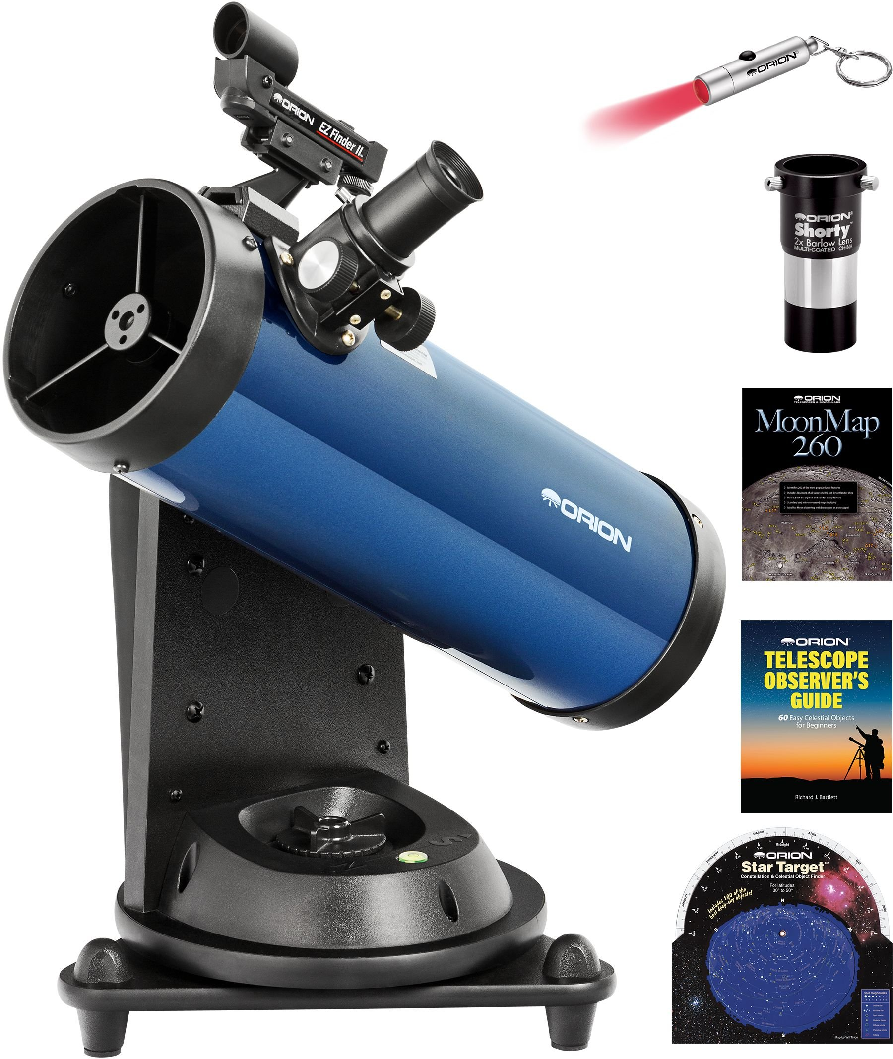 Orion StarBlast 114mm AutoTracker Reflector Telescope Kit by Orion