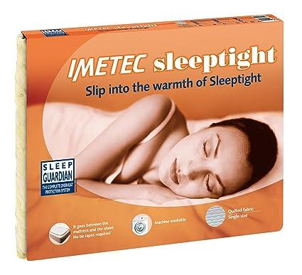 Imetec 6074 Sleeptight (Scaldasonno)-Manta eléctrica individual, 150 x 180 cm,