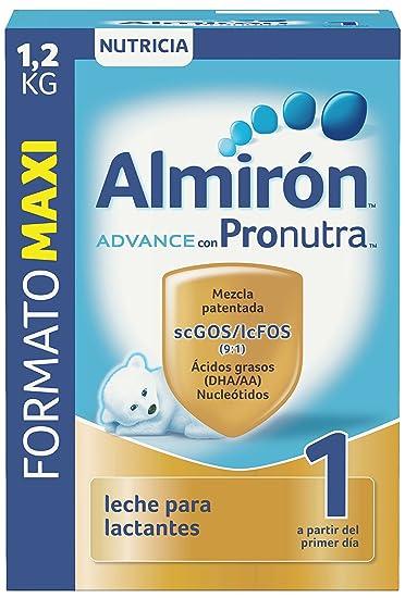 Almirón Advance con Pronutra 1 Leche de inicio en polvo a partir del primer día - 1,2 kg: Amazon.es: Alimentación y bebidas