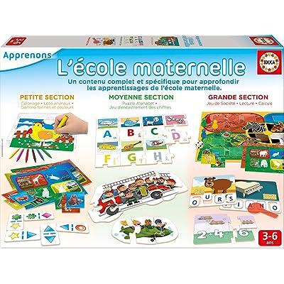 Educa Borras 17064.0 - Kit L'école Maternelle