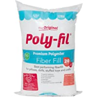 Fairfield PF20B Poly-Fil Premium Fibre Fill, 20-Ounce