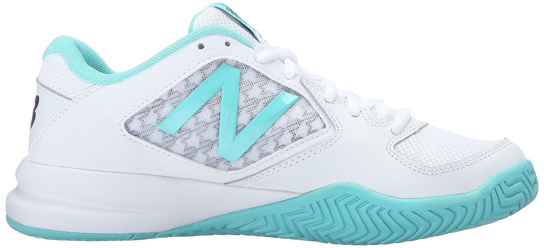 Nouvelle Chaussure De Tennis Équilibre 696v2 Des Femmes, Sarcelle / Blanc, 8 B Nous