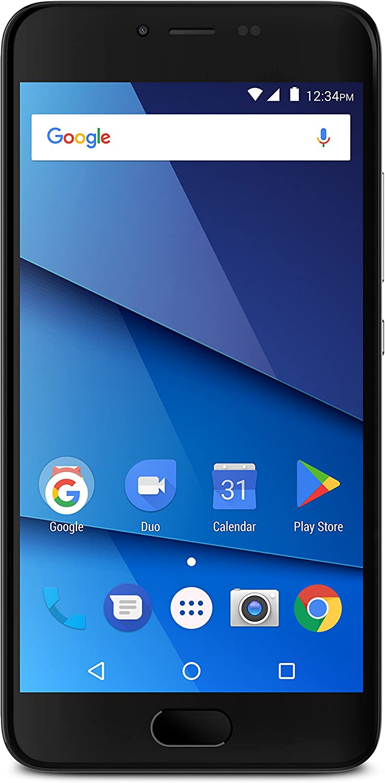 BLU S1 S0320WW 16GB Unlocked GSM/Sprint 4G LTE Dual-SIM Android Phone w/ 13MP Camera - Black
