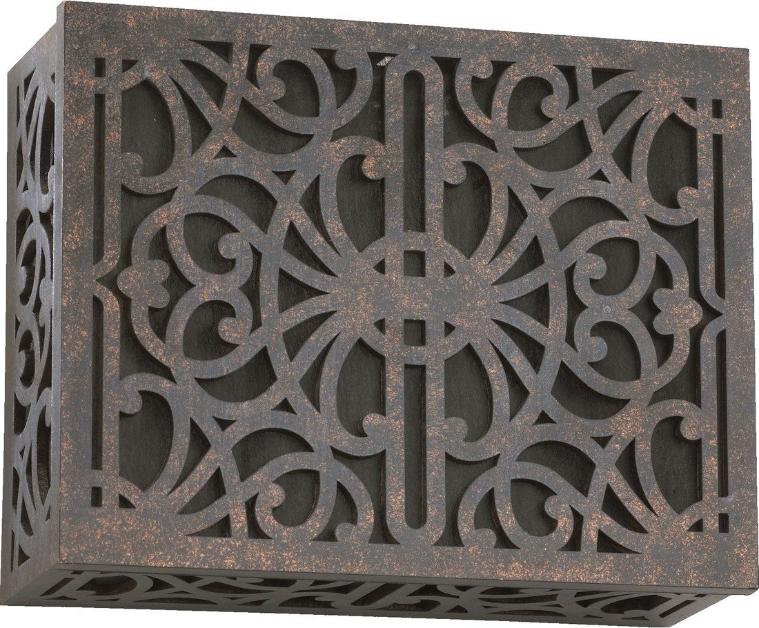 Quorum 7-115-044 Lighting Accessory Toasted Sienna Chime Grill