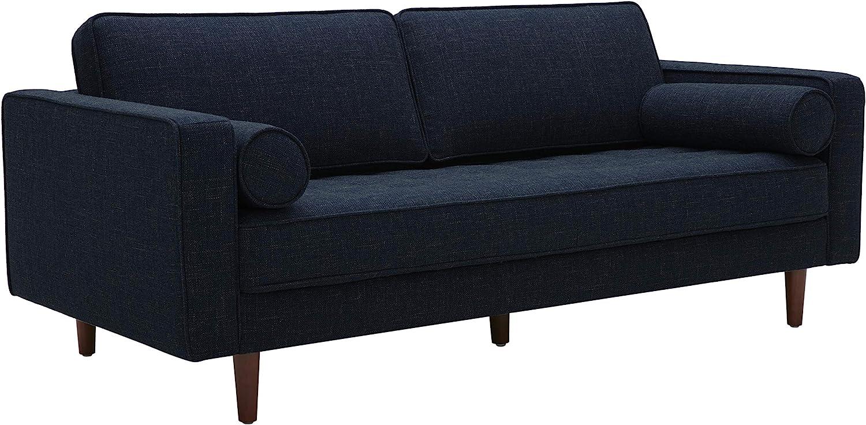 Amazon Brand – Rivet Aiden Mid-Century Sofa with Tapered Wood Legs, 74