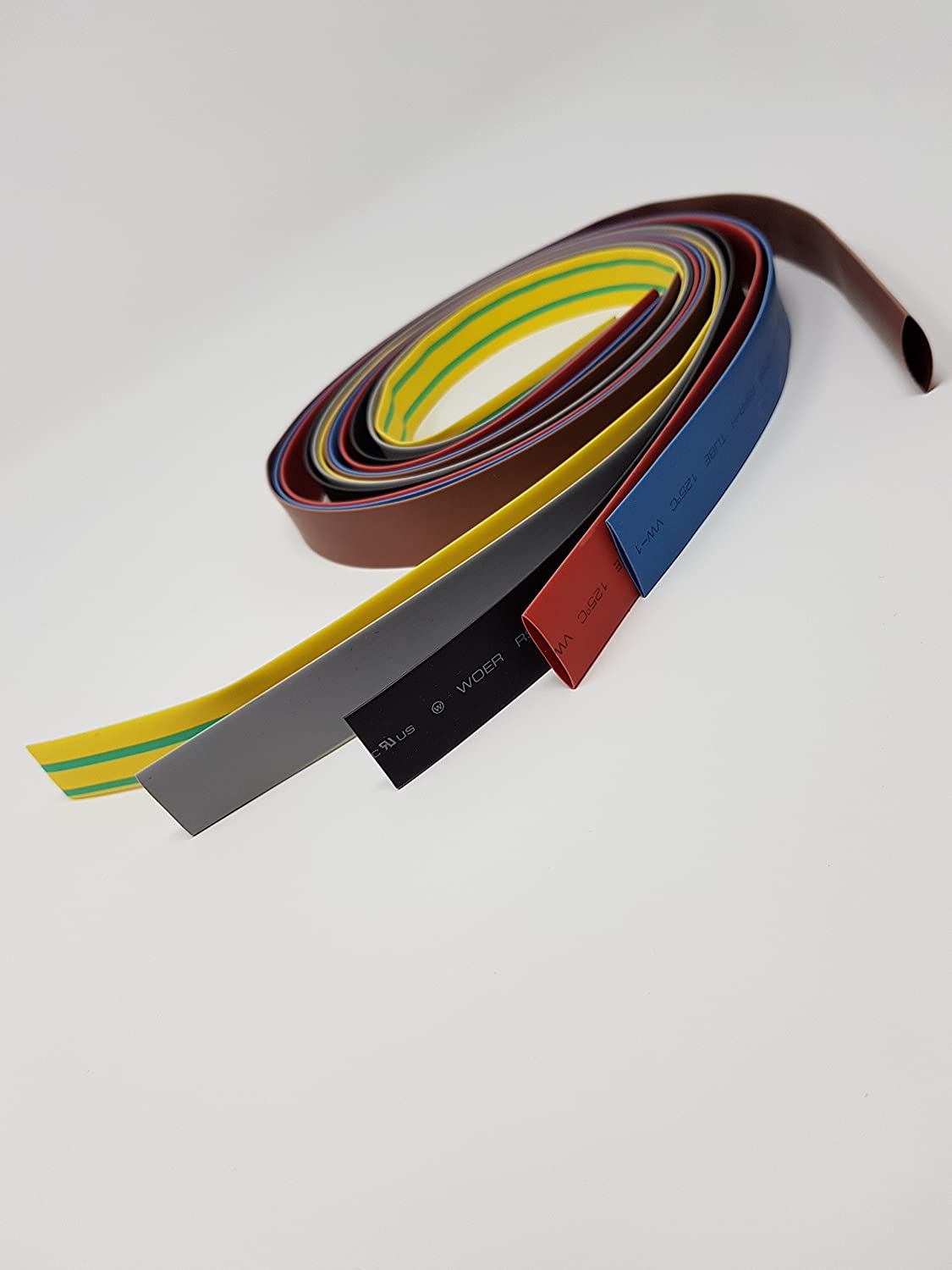 1mm Dia 2:1 Heat Shrink Wrap Cable Sleeve Heatshrink Tube 1m Length Blue sourcing map Heat Shrink Tubing