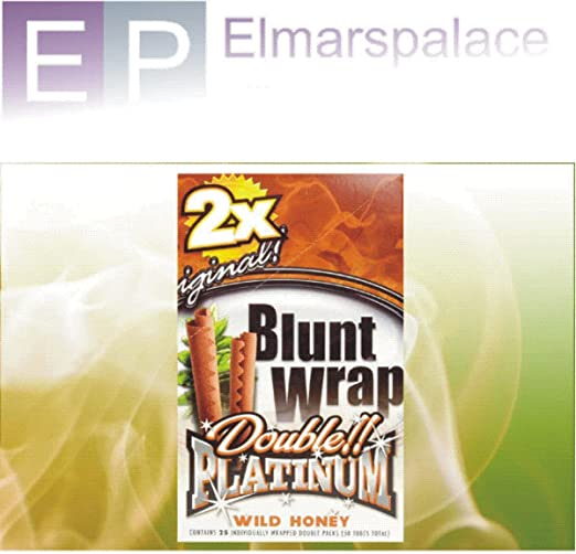 Compra Blunt Double Platinum Wild Honey boxeo Double Pack 25 x (total 50 boxeo) solo en Elmar Palace! en Amazon.es