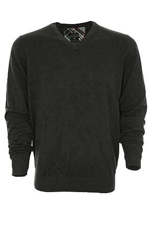 KITARO Herren Pullover Strick V-Ausschnitt Brillant Cotton: Amazon.de:  Bekleidung