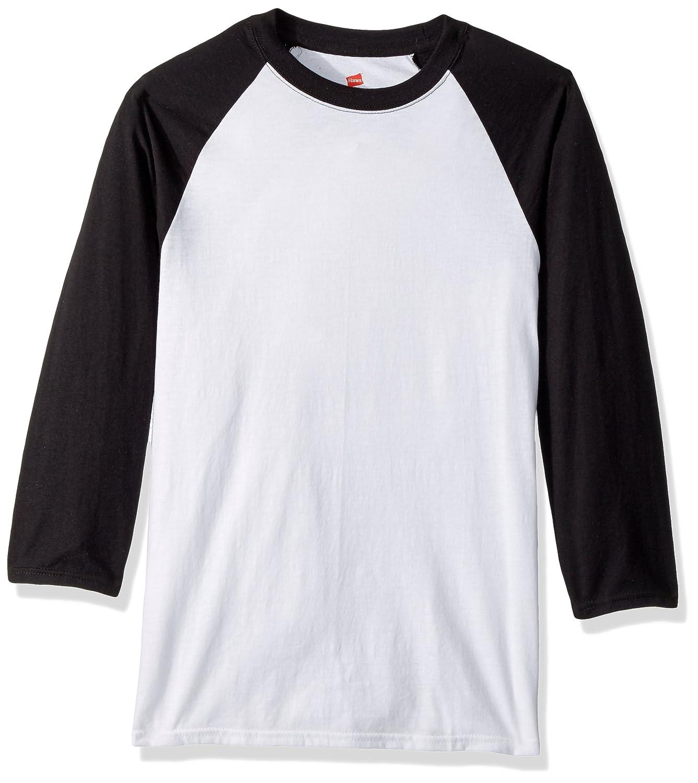 5e803e51c285 Amazon.com: Hanes Men's X-Temp Raglan Baseball Tee: Clothing