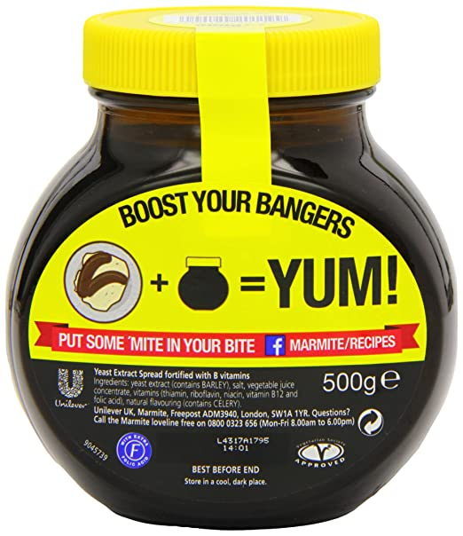 Marmite Original Original Marmite Yeast Extract Imported From The UK  England The Very Best British Marmite