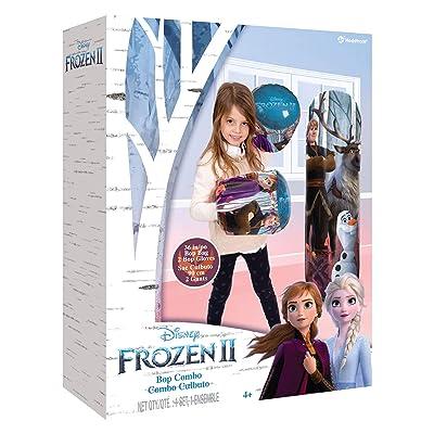 """Hedstrom Disney Frozen 2, 36"""" Bop Bag & Gloves Combo, 56-85341: Toys & Games"""