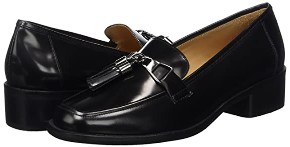 Marc O'Polo Damen Mid Heel Loafer 70714142202111 Slipper