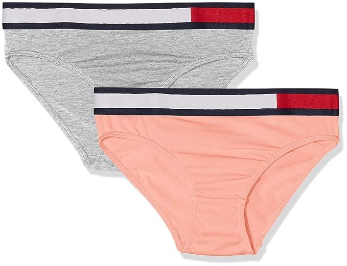 Tommy Hilfiger 2p Bikini, (Rose Tan/Grey Heather 016) 140 (Talla