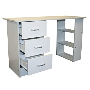 convenience concepts desk ca trestle view designs amazon white larger computer dp go