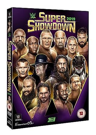 WWE: Super ShowDown 2019 [DVD] [Reino Unido]: Amazon.es: Goldberg, Undertaker, Triple H, Goldberg, Undertaker: Cine y Series TV