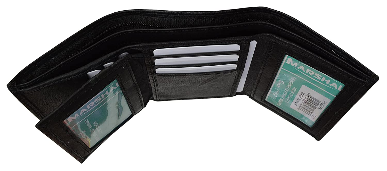 New Marshal Soft Leather Lambskin Premium Wallets