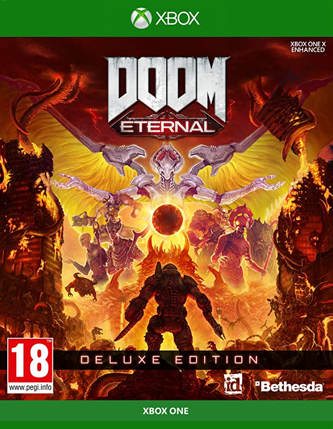 Doom Eternal Deluxe Edition UK - Xbox One [Importación inglesa ...