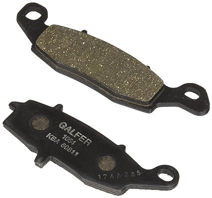 GALFER - FD174 G1054 SEMI METAL BRAKE PADS: Amazon.es: Coche ...