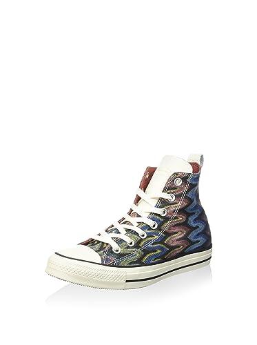 Converse 151254 °C – Chuck Taylor All Star Hi Premium Cotton Missoni Unisex  Adult Size 3687f1fd4d6