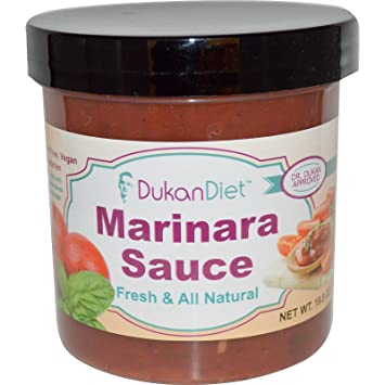 Dukan Diet, Marinara Sauce, 19.8 oz (561 g)(PACK 1)