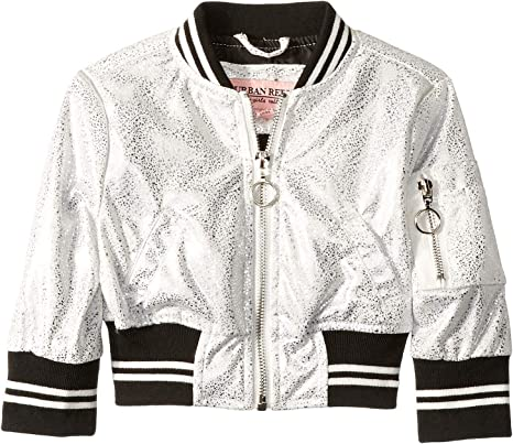 Infant//Toddler Urban Republic Kids Baby Girls Faux Patent Leather Puffer Jacket