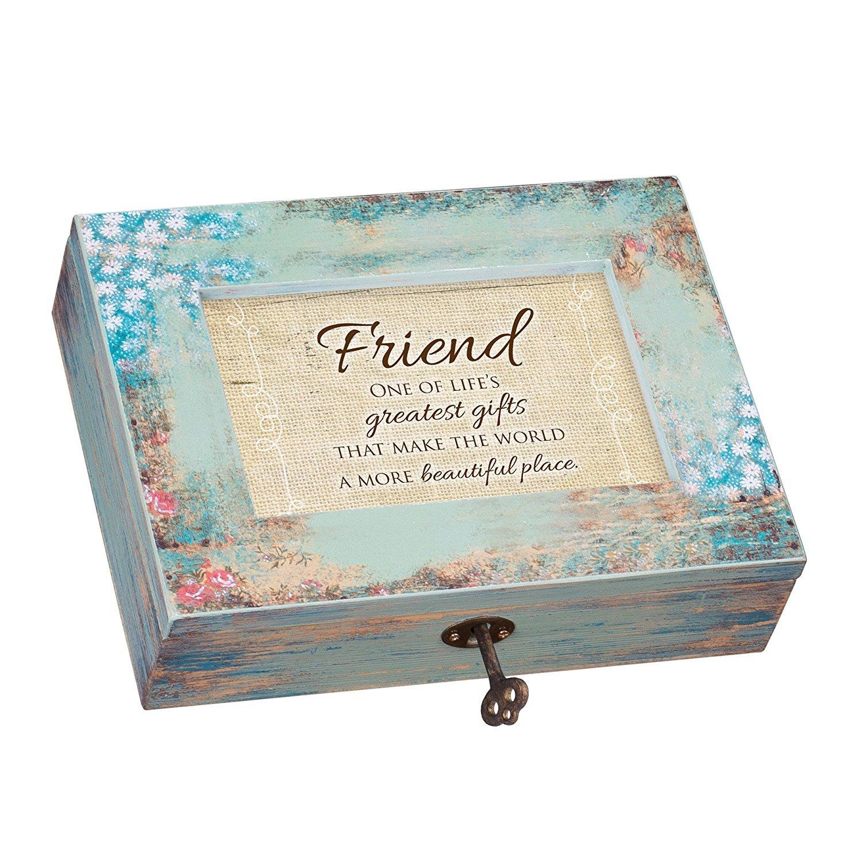【新作からSALEアイテム等お得な商品満載】 Friend Greatest Are Blessingsアンティーク調木製ジュエリー音楽ボックスPlays Tune B01JWM7MUM That 's What 's Friends Are For B01JWM7MUM, 古着屋HEB(エイチイービー):ece77855 --- egreensolutions.ca
