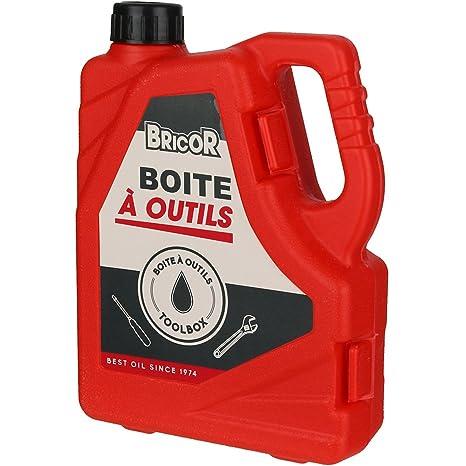 Caja de herramientas Jerrycan – Bidón bricor rojo Set de 14 herramientas la chaise longue 38