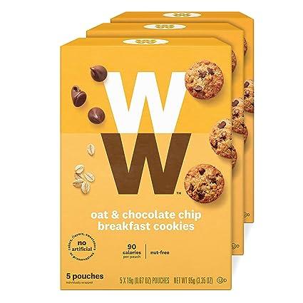 WW Galletas de desayuno de avena: Amazon.com: Grocery ...