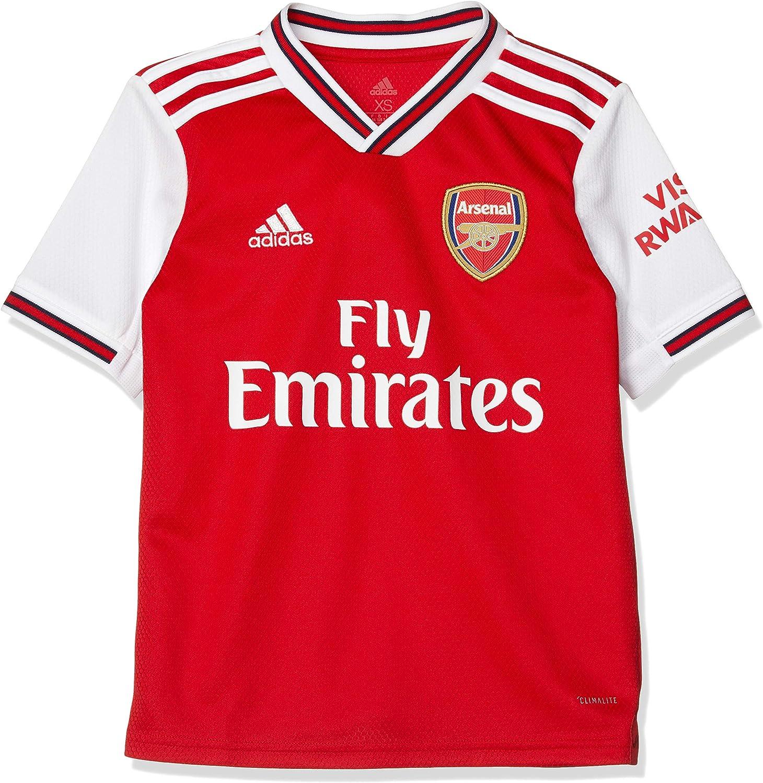 Amazon Com Adidas 2019 2020 Arsenal Home Football Soccer T Shirt Jersey Kids Clothing