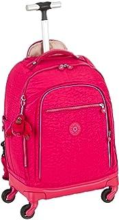 b2200cb9b Kipling Sanaa Surfer Pink Rolling Backpack, Surferpink: Amazon.co.uk ...
