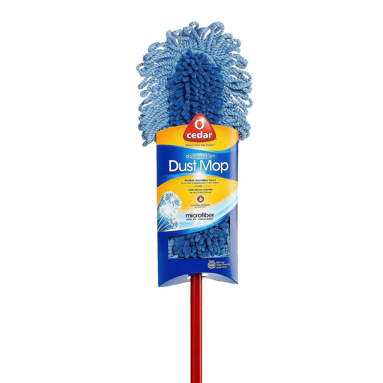 Amazon.com: O-Cedar Dual-Action Microfiber Sweeper Dust Mop: Home & Kitchen - Amazon.com: O-Cedar Dual-Action Microfiber Sweeper Dust Mop: Home
