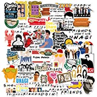 Friends TV Show Merchandise Stickers Pack of 50 Stickers-Funny Quote Waterproof Vinyl Stickers for Laptop Hydro Flasks…