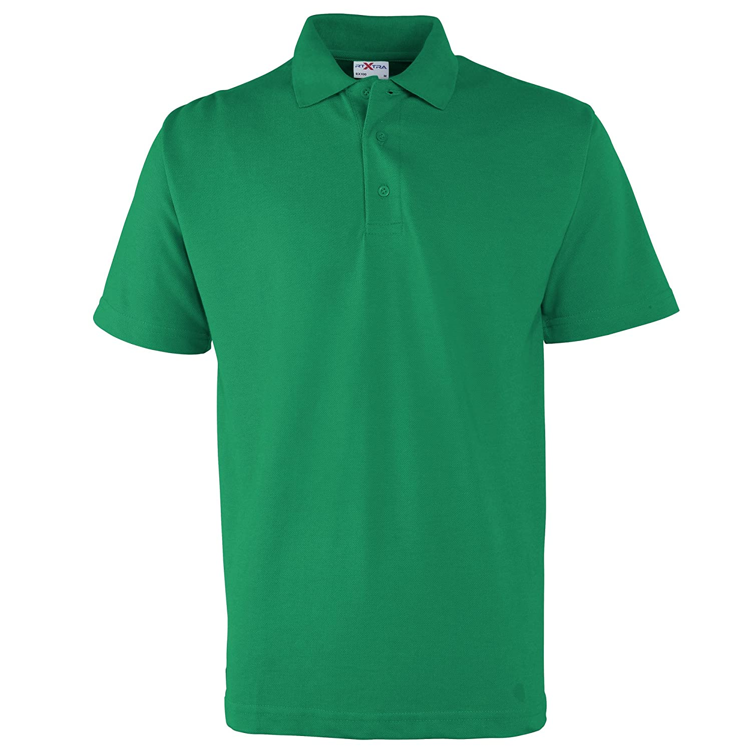 RTXtra Mens Pique Knit Classic Polo Shirt