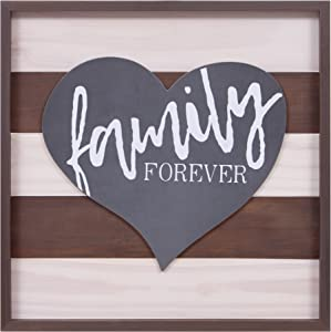 Patton Wall Decor Family Forever Wood Wall Art