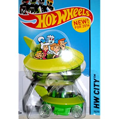 Hot Wheels, 2014 The Jetsons Capsule Car #90/250: Toys & Games