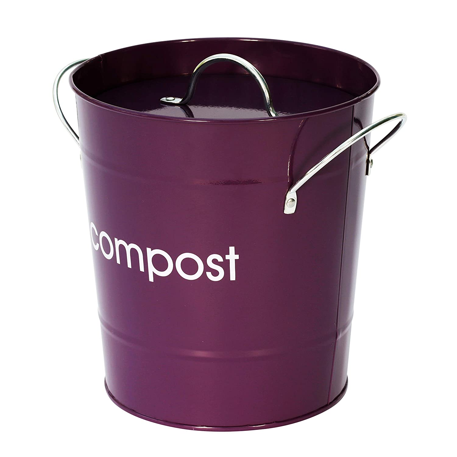 Premier Housewares - Cubo para compost, color crema: Amazon ...