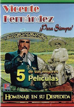 Amazoncom Vicente Fernandez Para Siempre El Orgullo De Mexico 5