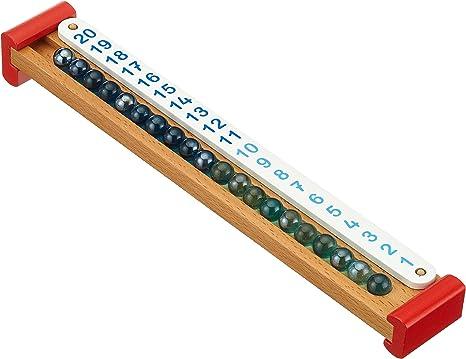 Goki-58522 Juegos Educativos Calculadora de Canicas, Multicolor ...
