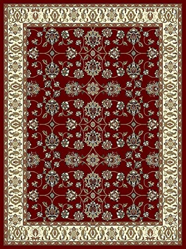 Large Rugs for Living Room 8×11 Red Traditional Area Rugs 8×10 Under 100 Prime Rugs