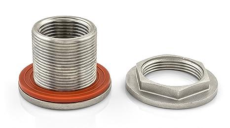 Amazon.com: minibrew EZ Seal Acero Inoxidable weld-less ...