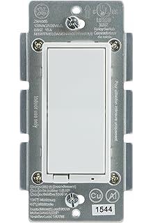 ge z wave wireless lighting control onoff switch in wall ge wave wireless lighting control