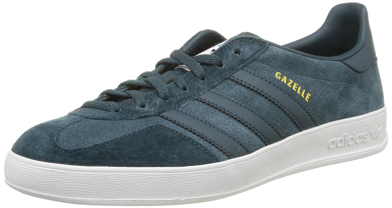 adidasGazelle Indoor - Zapatillas de Deporte Hombre 41 1/3 EU|Azul - Bleu (Midnight F15/Midnight F15/White)