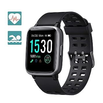 Arbily Reloj Inteligente Pantalla Táctil Completa Pulsera de Actividad Smartwatch Mujer Hombre Niño Reloj Deportivo a Prueba de Nadar Impermeable ...