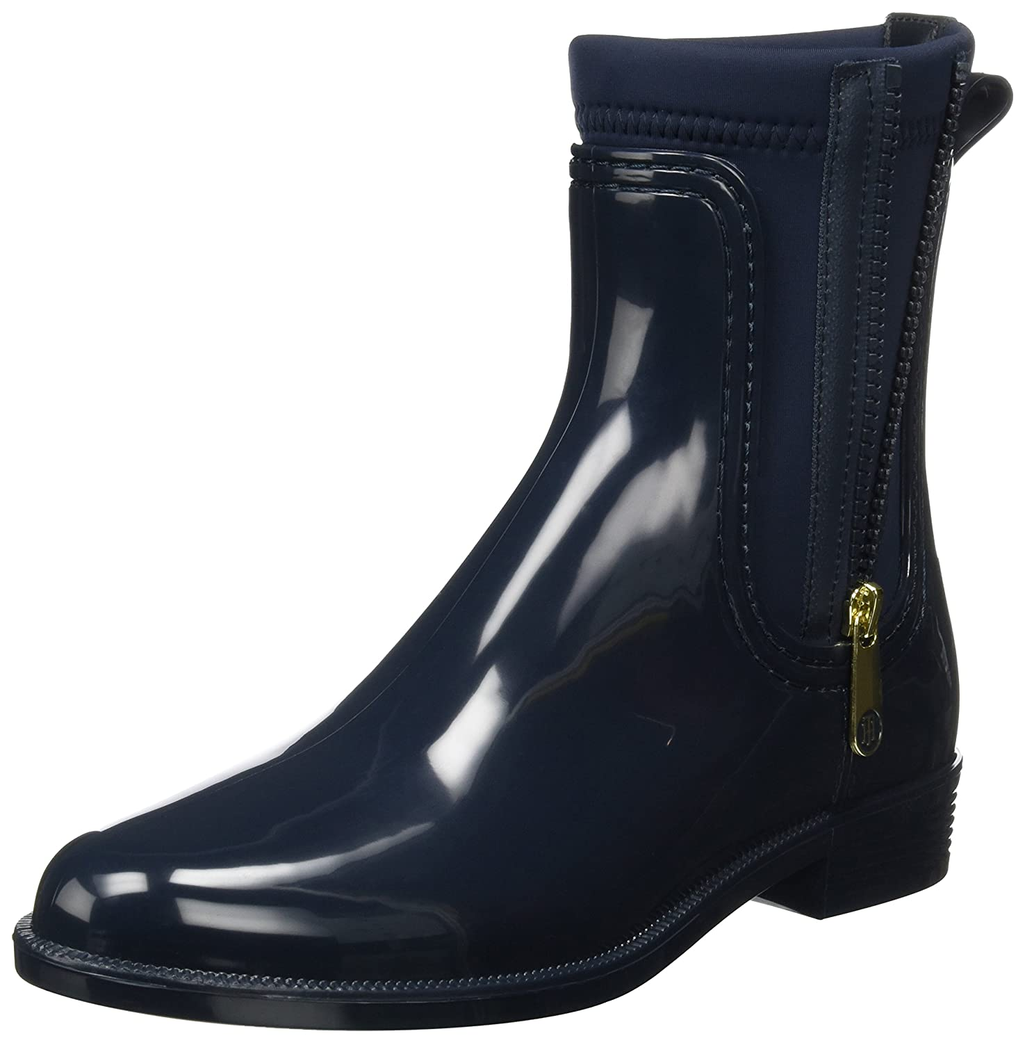 Tommy Hilfiger O1285dette 12r, Botas Chelsea para Mujer Azul (Midnight)