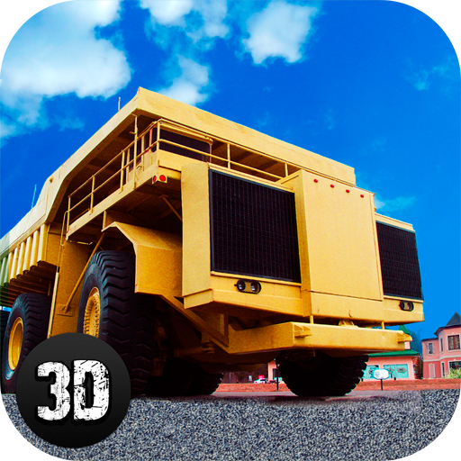 Real Quarry Truck Driver: Giant Construction Vehicle Racing Simulator